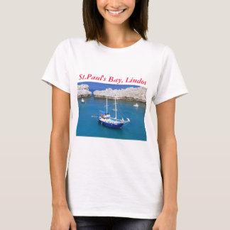 St.Paul's Bay, Lindos T-Shirt