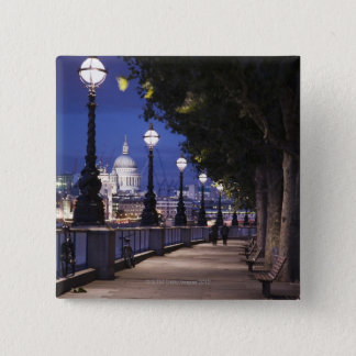 St. Paul's Cathedral 15 Cm Square Badge