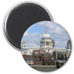 St Paul's Cathedral 6 Cm Round Magnet