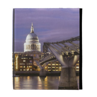 St Pauls Cathedral and City Skyline iPad Folio Case