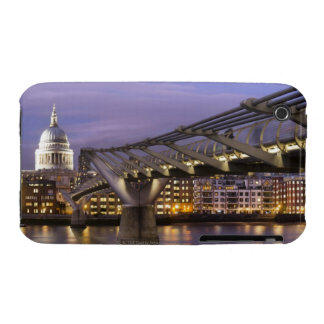 St Pauls Cathedral and City Skyline iPhone 3 Covers