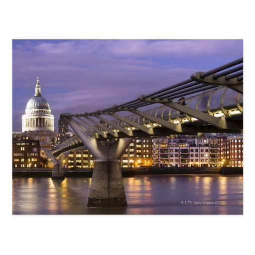 St Pauls Cathedral and City Skyline Post Cards