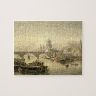 St. Paul's Cathedral and London Bridge from the Su Jigsaw Puzzle