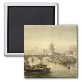 St. Paul's Cathedral and London Bridge from the Su Magnets