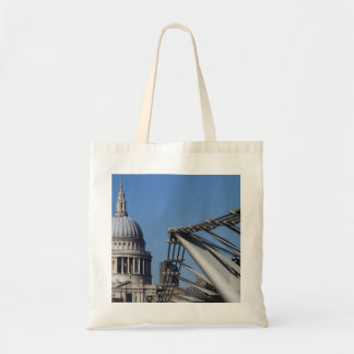 St Pauls Cathedral And The Millenium Bridge Bags