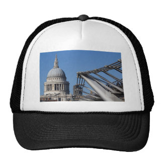 St Pauls Cathedral And The Millenium Bridge Hats