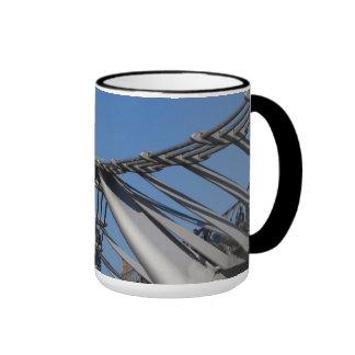 St Pauls Cathedral And The Millenium Bridge Coffee Mug
