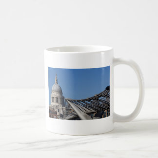 St Pauls Cathedral And The Millenium Bridge Mug