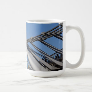 St Pauls Cathedral And The Millenium Bridge Coffee Mugs