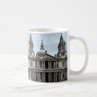 St Paul's Cathedral Basic White Mug