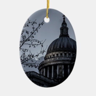 St Paul's Cathedral Ceramic Oval Decoration