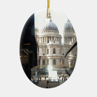St Paul's Cathedral from One New Change Christmas Ornament