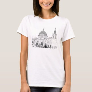 St Pauls Cathedral illustration t-shirt