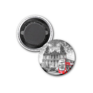 St Paul's Cathedral London 3 Cm Round Magnet