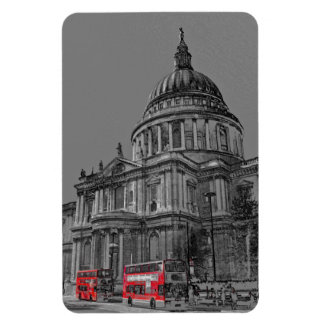 St Paul's Cathedral London Art Flexible Magnet