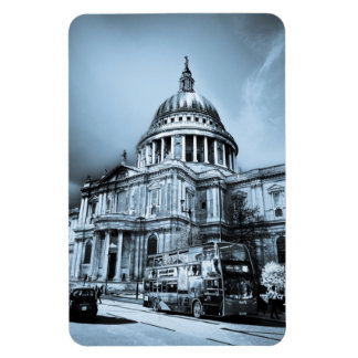 St Paul's Cathedral London Art Rectangle Magnet