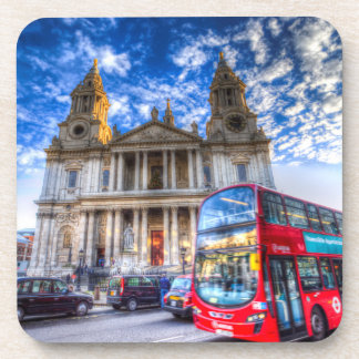 St Paul's Cathedral London Beverage Coaster