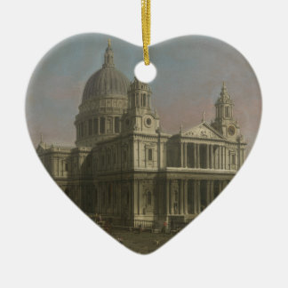 St. Paul's Cathedral, London, England Christmas Ornament