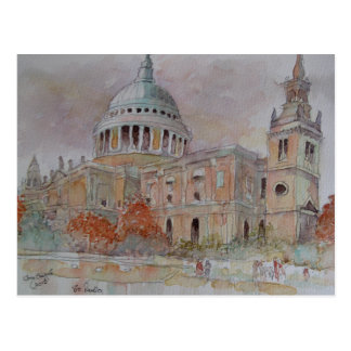 St Paul's Cathedral. London Postcard