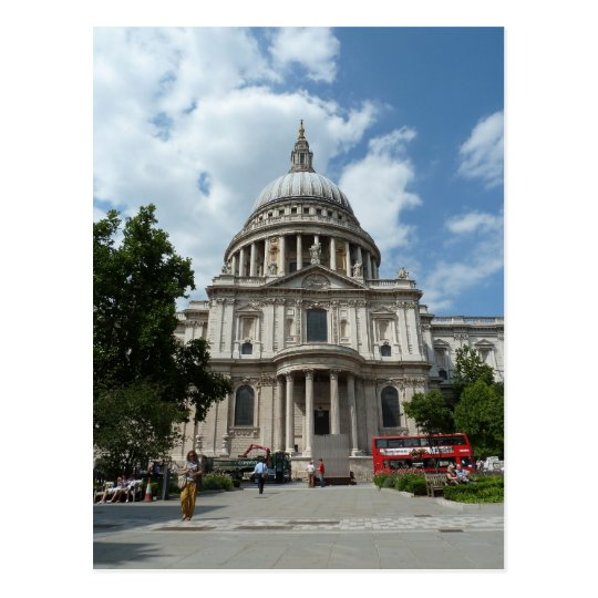 St Paul's Cathedral London Postcard