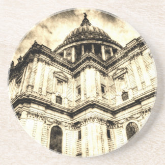 St Paul's Cathedral London Vintage Coaster