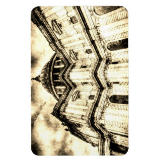 St Paul's Cathedral London Vintage Rectangular Photo Magnet