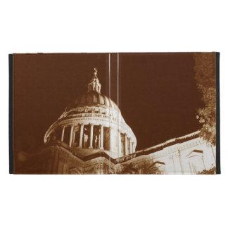 St Paul's Cathedral – Sepia iPad Folio Case