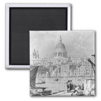 St. Paul's Cathedral Square Magnet