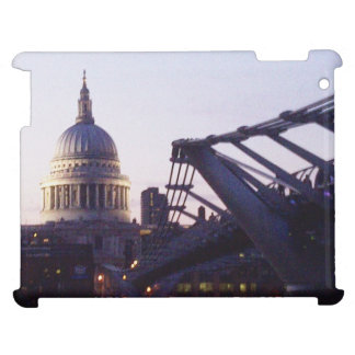 St Paul's Cathedral & the Millennium Bridge iPad Cases