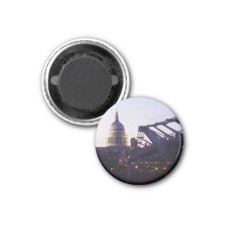 St Paul's Cathedral & the Millennium Bridge Fridge Magnets