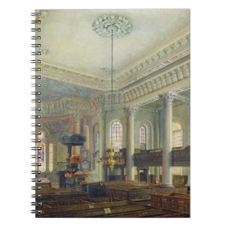 St. Paul's, Deptford (w/c on paper) Spiral Note Books