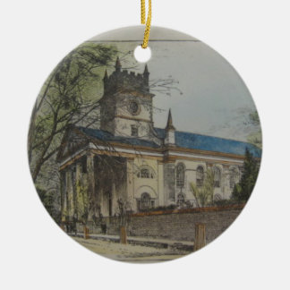 St. Paul's Episcopal Church, Charleston, SC Christmas Ornament