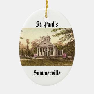 St. Paul's Episcopal Church, Summerville, SC Christmas Ornament