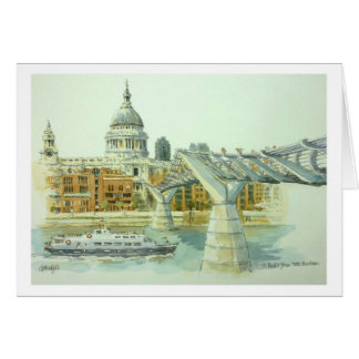 St.Pauls from Tate Modern Card