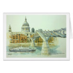 St.Pauls from Tate Modern Cards