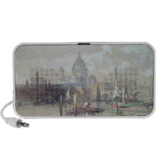 St. Pauls from the River, 1863 iPod Speakers