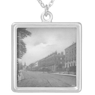 St. Pauls Road, Canonbury, Islington, c.1905 Silver Plated Necklace