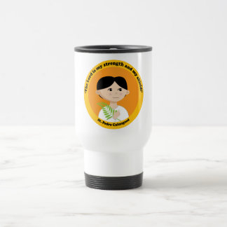 St. Pedro Calungsod Stainless Steel Travel Mug