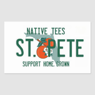 St. Pete Home Grown Sticker