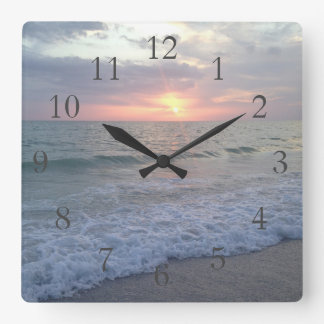 St. Pete Sunset Clock