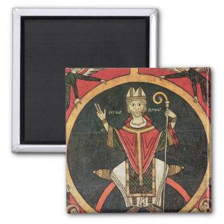 St. Peter 2 Square Magnet