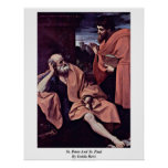St. Peter And St. Paul By Guido Reni Print