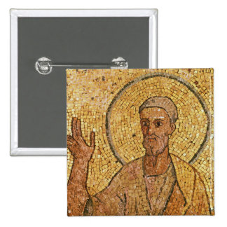 St. Peter, from the Crypt of St. Peter, c.700 AD 15 Cm Square Badge