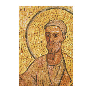 St. Peter, from the Crypt of St. Peter, c.700 AD Canvas Print