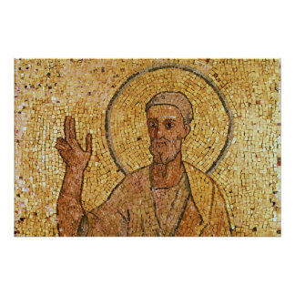 St. Peter, from the Crypt of St. Peter, c.700 AD Poster