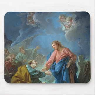 St. Peter Invited to Walk on the Water, 1766 Mouse Mat