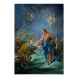 St. Peter Invited to Walk on the Water, 1766 Poster