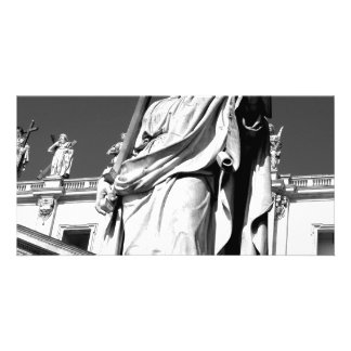 St Peter Outside the Vatican Photo Greeting Card