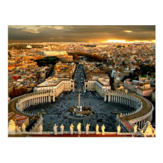 St Peter s Square Vatican Post Cards