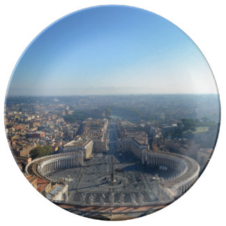 St. Peter square Plate